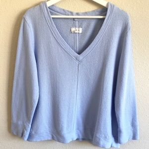Lou & Grey Powder Blue Long Sleeve Top